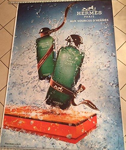 AFFICHE - Hermès  Aux Sources - Parfum - ABRIBUS - 120x175 cm - AFFICHE / POSTER