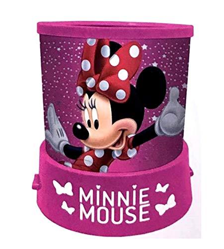veilleuse projecteur d'étoiles Minnie, véritable constellation à la maison,