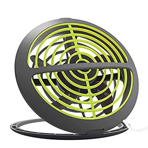 Asvert Usb Desk Fans Electric Mini Portable Standing Table Fan For Office And Home Powered By Netbook, Computer Macbook, Power Bank, And PC ,6