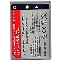 NX - Batterie photo 7.4V 980mAh - NB-7L ; NB7L