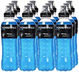 Powerade - Ice Storm, Botella 50 cl (Pack de 12)