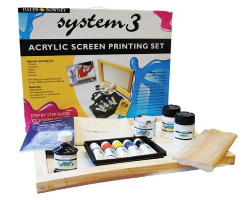 Daler Rowney System 3 Screen Printing Set by Daler Rowney