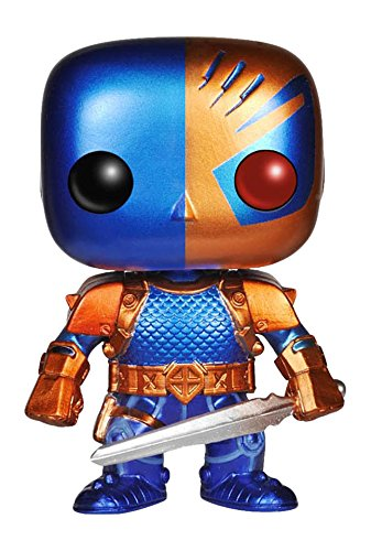 Funko 019002 Pop Heroes: Dc Comics Deathstroke 52 Metallic Exclusive 49 Vinyl Figure (Offizielle Assassin's Creed Kostüm)