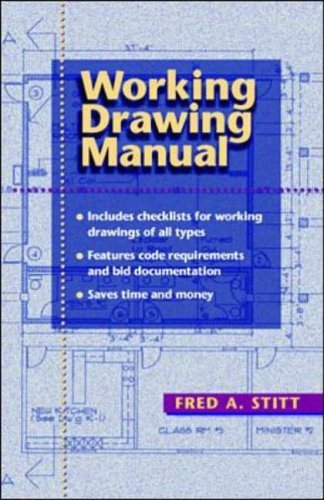 Working Drawing Manual by Fred A. Stitt (1-Jun-1998) Paperback