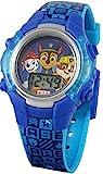 Paw Patrol - Reloj digital con luz azul para niño