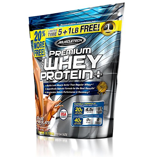 Muscletech 100% Premium Whey Protein Plus Deluxe Chocolate, 2721 g