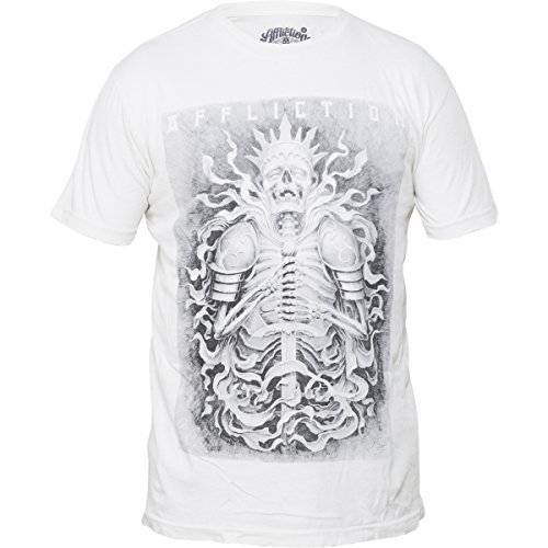 Affliction T-Shirt Josh Duffy Weiß Weiß