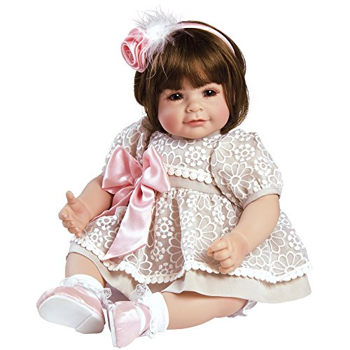 """Adora Toddler Enchanted 20"""" Girl Weighted Doll Gift Set for Children 6+ Huggable Vinyl Cuddly Snuggle Soft Body Toy"""