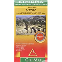 ETHIOPIA 1/2M (GEOGRAPHICAL)