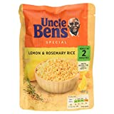 Uncle Ben's Special Lemon & Rosemary Microwaveable Rice, 250g
