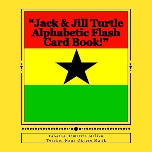 Jack & Jill Turtle Alphabetic Flash Card Book!