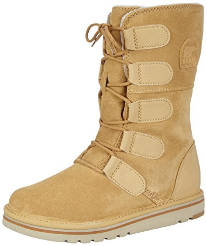 Sorel The Campus Lace, Stivali Donna Verde (Curry 373)
