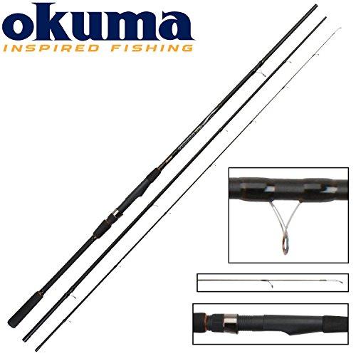 Okuma Carbonite Matchrute 390cm 35g - Angelrute zum Stippen, Stipprute, Angel zum Posenangeln, Forellenangeln, Angeln auf Plötzen, Brassen, Schleie & Karpfen.