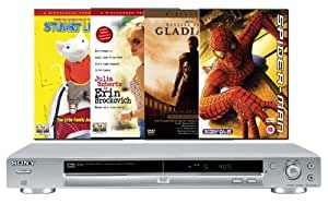 Sony DVP-NS330 DVD Player With 4 Free DVD's