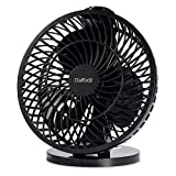 "7"" USB Desk Fan – Daffodil UFN120 - Stay Cool at your Desk on Hot Summer Days"