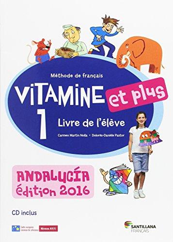 Vitamine et plus 1 eleve+cd andalucia