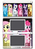 My Little Pony Friendship is Magic MLP Friends Twilight Sparkle Rarity Rainbow Dash Fluttershy Pinkie Pie Apple Jack Video Game Vinyl Decal Skin Sticker Cover for Nintendo DS Lite System by Vinyl Skin Designs