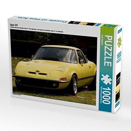 Preisvergleich Produktbild Opel GT 1000 Teile Puzzle quer