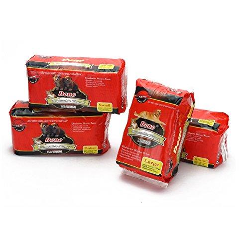 PETCUTE Pañales Desechables para Perros Almohadillas de Entrenamiento para Perros Empapadores Absorbente Toallitas de Entrenamiento para Mascotas