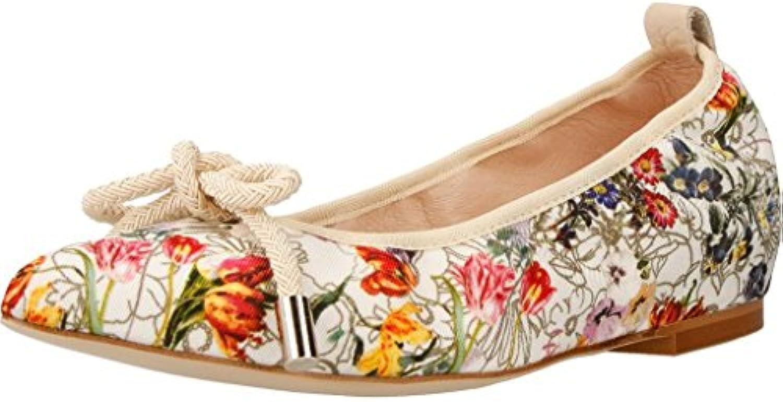 Zapatos Bailarina para Mujer, Color Blanco, Marca Mikaela, Modelo Zapatos Bailarina para Mujer Mikaela 17023 Blanco
