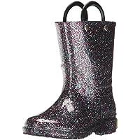 Western Chief Kids Glitter Rain Boots, Multi, 8 Toddler