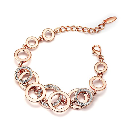 valentine gifts for girls youbella jewellery rose gold plated
