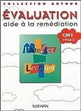 Atelier lecture, tests, CM1, cycle 3. Evaluation, aide à la remédiation