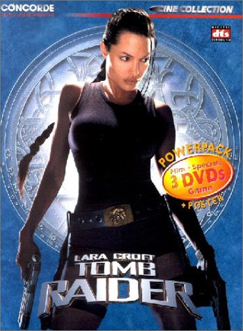 Concorde Video Tomb Raider (3 DVDs)