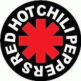 RHCP Red Hot Chili Peppers Musik Hochwertigen Auto-Autoaufkleber 15 x 5 cm