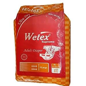 Adult Diapers Wetex Supreme XL 101-149cm (10 Pcs)