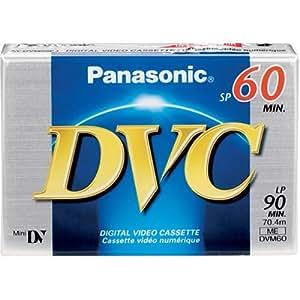 Panasonic-Mini DV 60 minutos