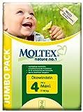 Moltex nature no.1 Ökowindeln Maxi Jumbopack, 1er Pack (1 x 74 Stück)
