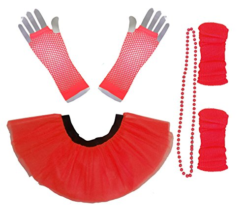 Honey B's® Neon Tutu Set for Women - Size 10-14, 16-22 - Many Colours
