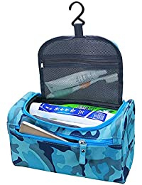 Luvina Hanging Toiletry Bag Travel Case For Man Or Woman With Hanging Hook Organizer Accessories Organizer Accessories...