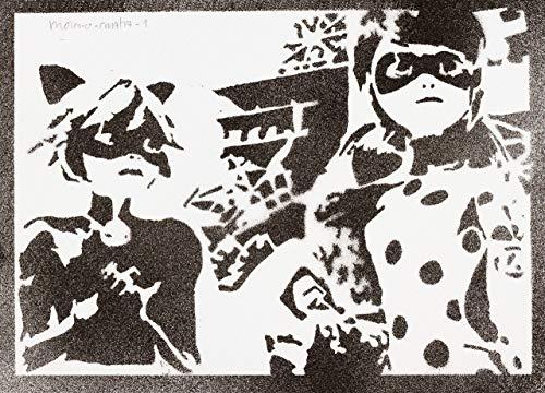 Poster Prodigiosa Miraculous Las Aventuras De Ladybug