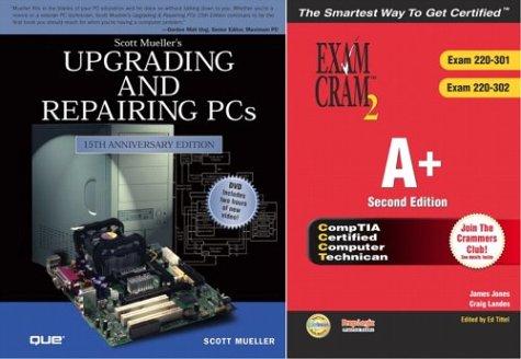 A+ Exam Cram 2 & Upgrading & Repairing PCs, 15th Edition Bundle