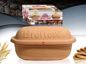 94338 - Brottopf aus Terracotta im Geschenkkarton - Inhalt
