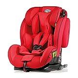 Heyner 786130 Kindersitz Capsula MultiFix ERGO 3D (I, II, III), Racing Red