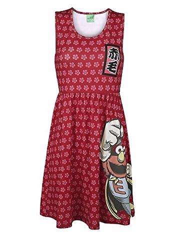 Sesamstraße Super Elmo Japan Kleid multicolour M