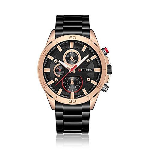 Ying xinguang Wasserdichte Quarzuhr Herren Business Uhren Casual Fashion Uhren, 3
