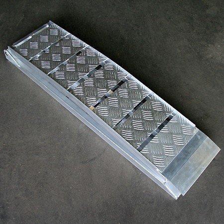 Rampa di Carico in alluminio rampa di carico verlade Guide rampa pieghevole Moto Quad ATV (fino a 600kg, L = 225cm)