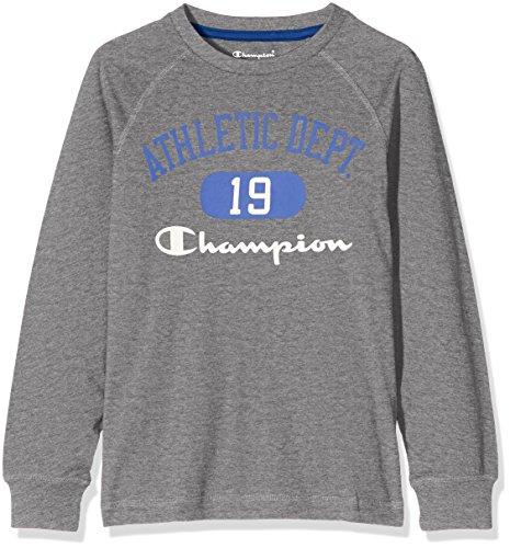 champion-bambino-t-shirt-m-l-auth-cottjerse-grigio-m-304300-f16