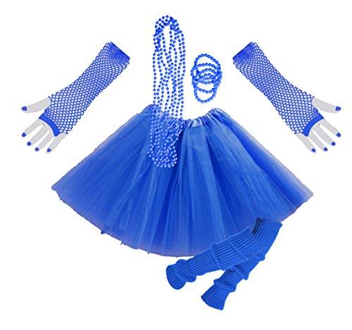 InnoBase 80s Fancy Dress Zubehör Kunststoff Neon Erwachsener -