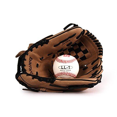 GBSL-3 Baseball Set, Handschuh & Ball, Junior Leder