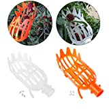 lailongp 1Pcs Plastic Fruit Picker Without Pole Fruit Collector Gardening Picking T