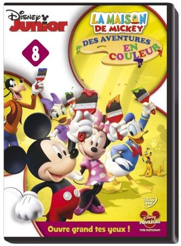 La Maison de Mickey-08-Des Aventures en Couleur