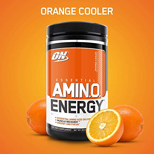 Optimum Nutrition Amino Energy, Naranja - 270g