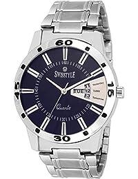 Swisstyle Analogue Blue Dial Men's Watch-Ss-Gr8416-Blu-Ch