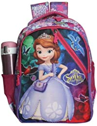 Disney School Bag for Girls 05+ Years Sofia The First Smiling All The Way  Cross 790ad7596ed45