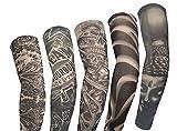 KEHUASHINA5 Stück hochwertige Tattoo Ärmel Unisex Outdoor-Sport